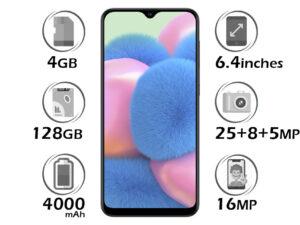 گوشی سامسونگ Galaxy A30s گنجایش 128GB