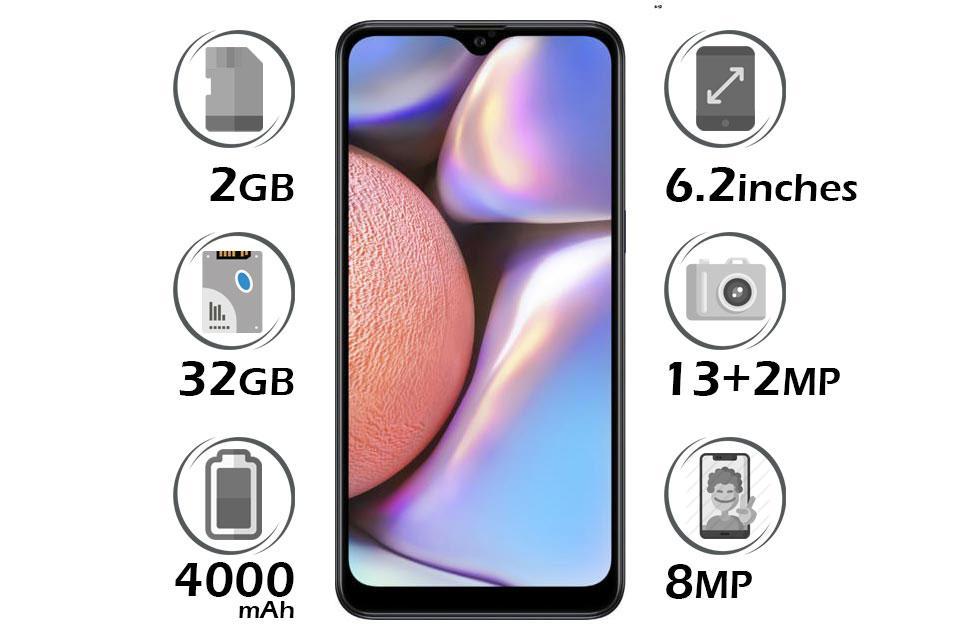 گوشی سامسونگ Galaxy A10s گنجایش 32GB