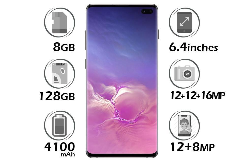 گوشی سامسونگ Galaxy S10 Plus گنجایش 128GB