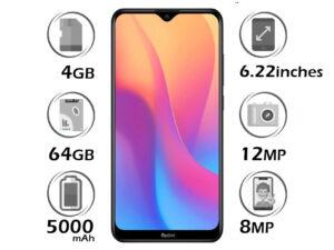 گوشی شیائومی Redmi 8A گنجایش 32GB با 2 گیگابایت رم