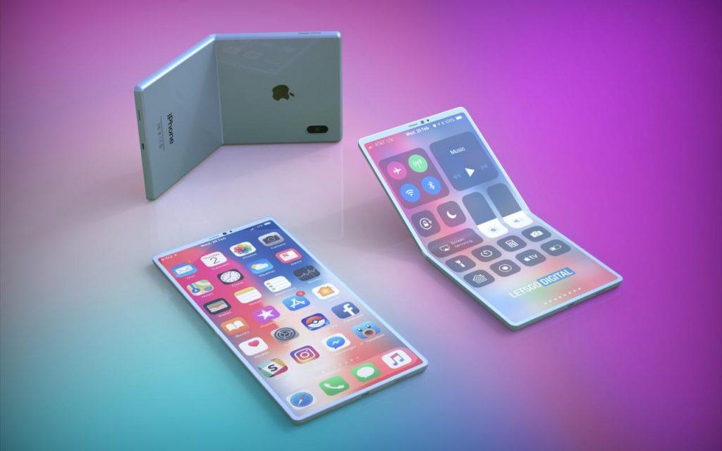 توسعه گوشی تاشو توسط کمپانی اپل برای عرضه در سال 2021