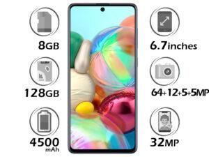 گوشی سامسونگ Galaxy A71 گنجایش 128GB
