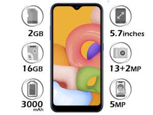 گوشی سامسونگ Galaxy A01 گنجایش 16GB