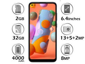 گوشی سامسونگ Galaxy A11 گنجایش 32GB با رم 2GB