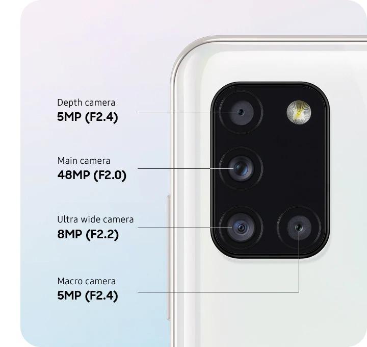 دوربین گلکسی A31 | مشخصات A31