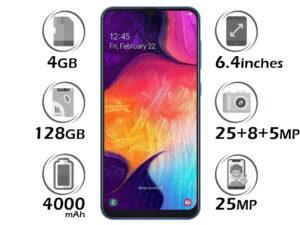گوشی سامسونگ Galaxy A50 گنجایش 128GB