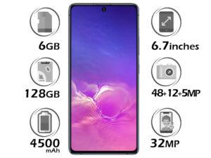 گوشی سامسونگ Galaxy S10 Lite گنجایش 128GB