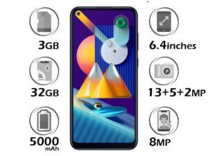 گوشی سامسونگ Galaxy M11 گنجایش 32GB