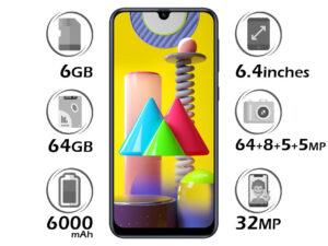 گوشی سامسونگ Galaxy M31 گنجایش 64GB