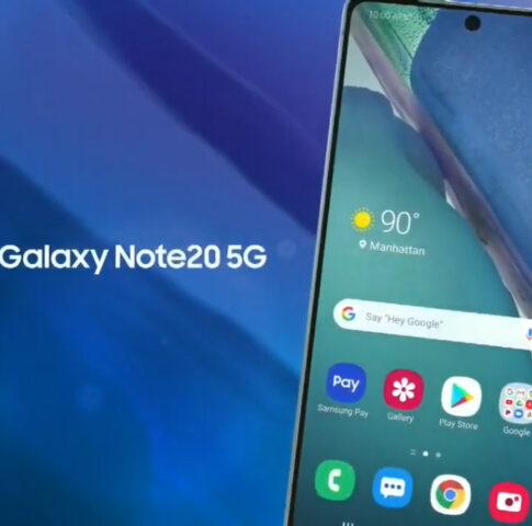 افشای ویدئوی سری Galaxy Note 20 با مشخصاتی تقریبا کامل