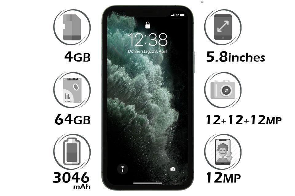 گوشی آیفون 11 پرو 64GB