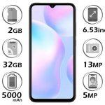 گوشی شیائومی Redmi 9A گنجایش 32GB با 2 گیگابایت رم