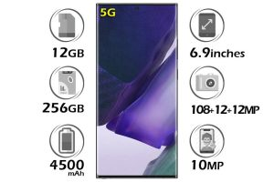 گوشی سامسونگ Galaxy Note20 Ultra 5G گنجایش 256GB رم 12GB