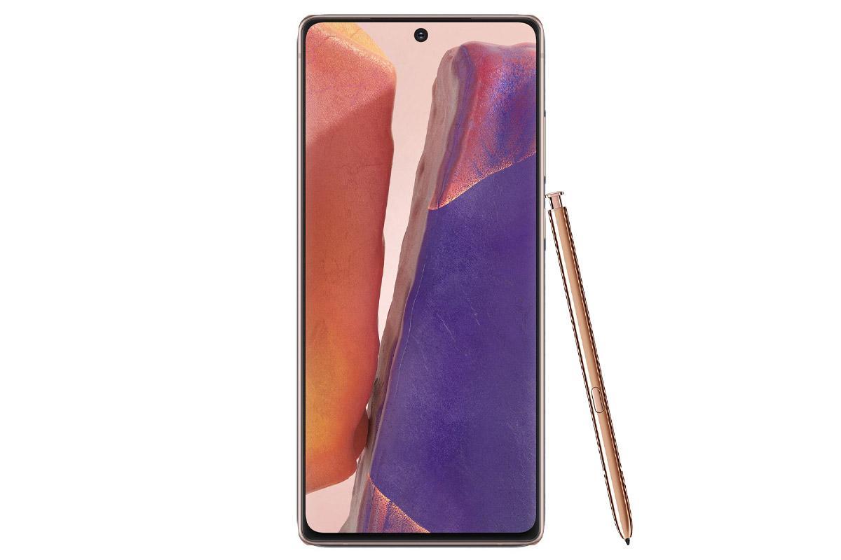 گوشی سامسونگ Galaxy Note20 گنجایش 256GB برنزی