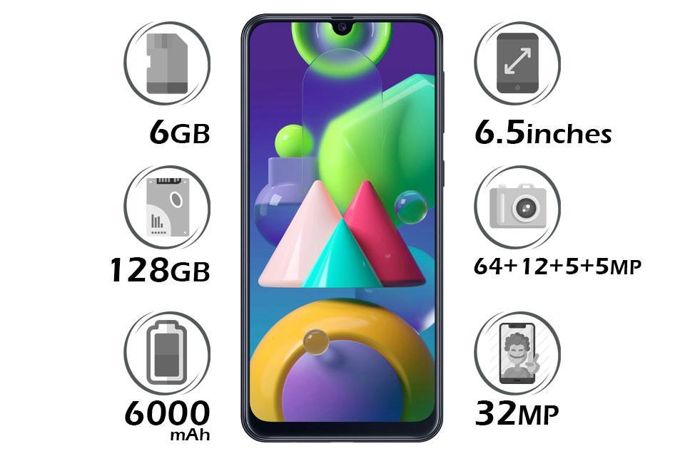 گوشی سامسونگ Galaxy M31s حافظه 128GB رم 6GB