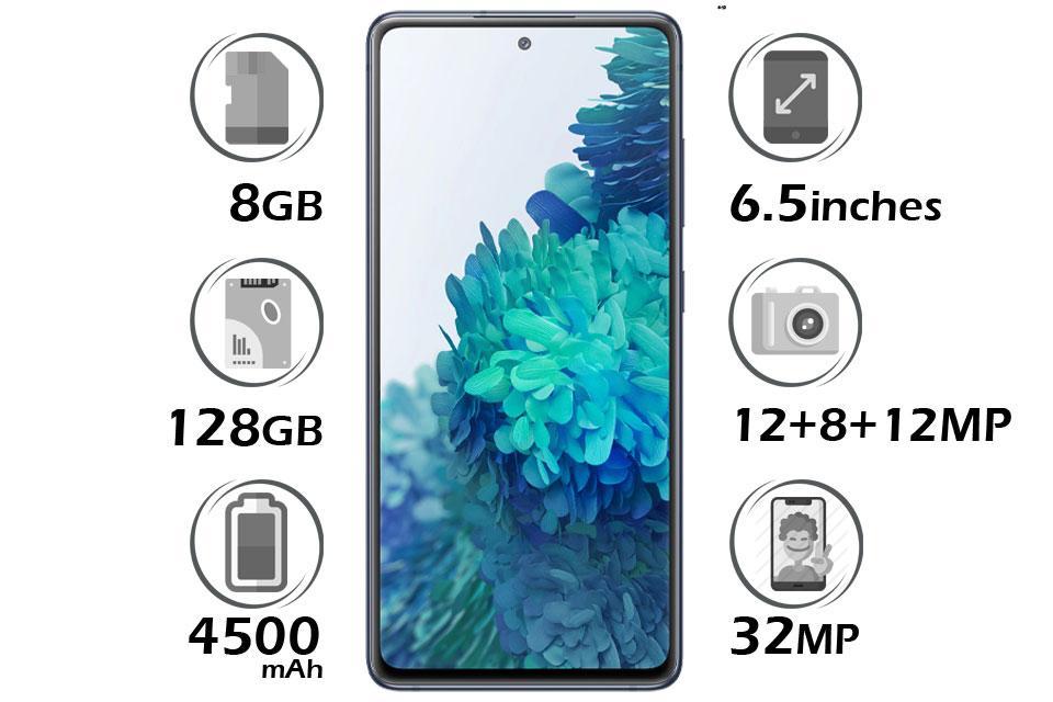 گوشی سامسونگ Galaxy S20 FE حافظه 128GB رم 8GB