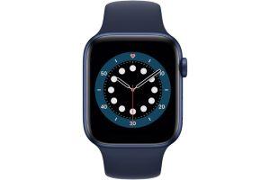 اپل واچ سری ۶ آلومینیوم آبی 44 میلیمتر