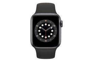 ساعت هوشمند اپل واچ سری ۶ 40mm Space Gray Aluminum With Black Sport Band
