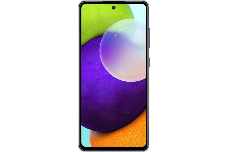 گوشی سامسونگ Galaxy A52 حافظه 256 گیگابایت رم 8 گیگابایت مشکی