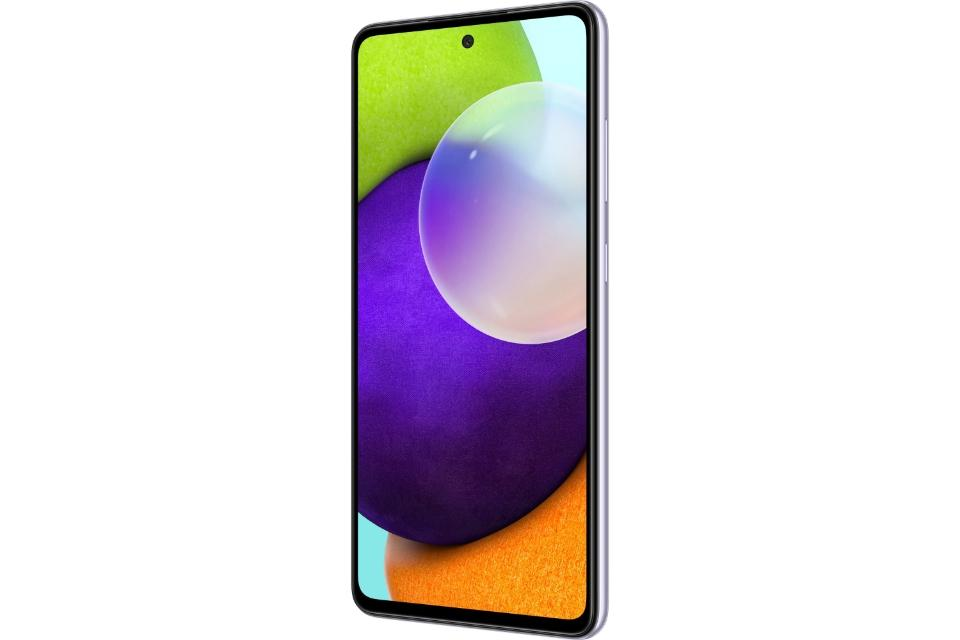 گوشی سامسونگ Galaxy A52 حافظه 256 گیگابایت رم 8 گیگابایت بنفش