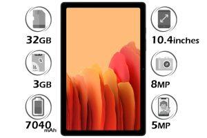 تبلت سامسونگ Galaxy Tab A7 10.4 SM-T505 حافظه 32 گیگابایت رم 3 گیگابایت