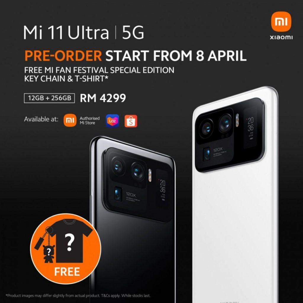 آغاز فروش جهانی Mi 11 Ultra از مالزی