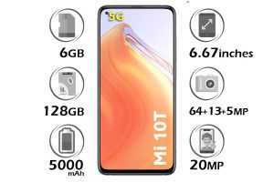 گوشی شیائومی Mi 10T 5G حافظه 128GB رم 6GB