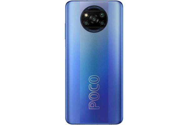 گوشی شیائومی پوکو X3 NFC حافظه 128 گیگابایت رم 8 گیگابایت آبی