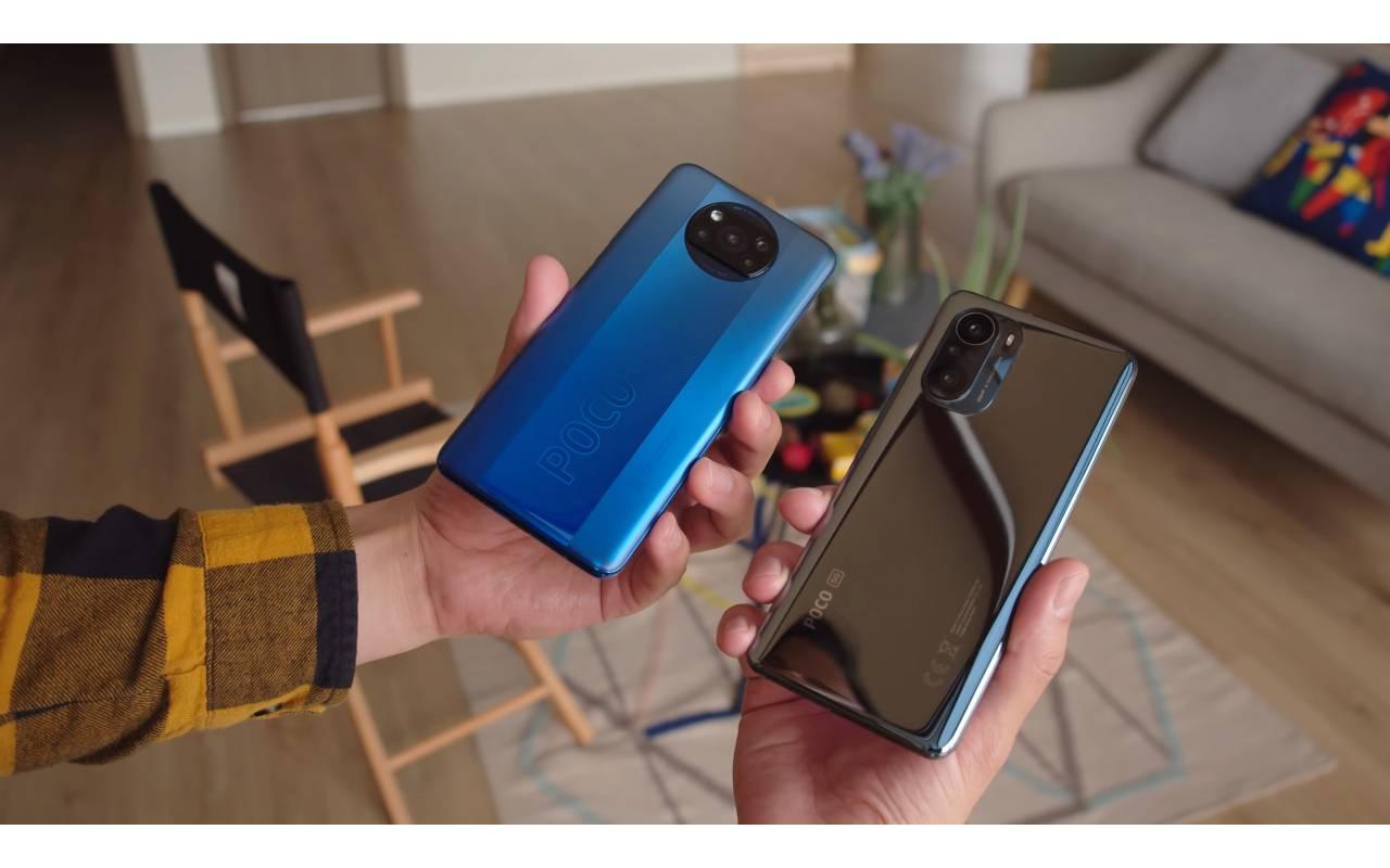 گوشی پوکو F3 شیائومی در دو رنگ آبی و مشکی | گوشی F3