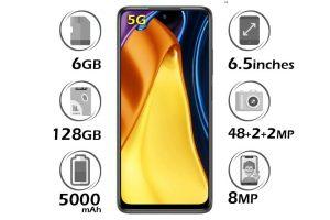 گوشی Poco M3 Pro 5G شیائومی حافظه 128GB رم 6 گیگابایت
