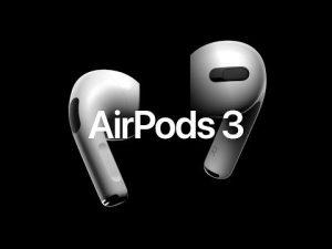 رونمایی 18 اکتبر از AirPods 3